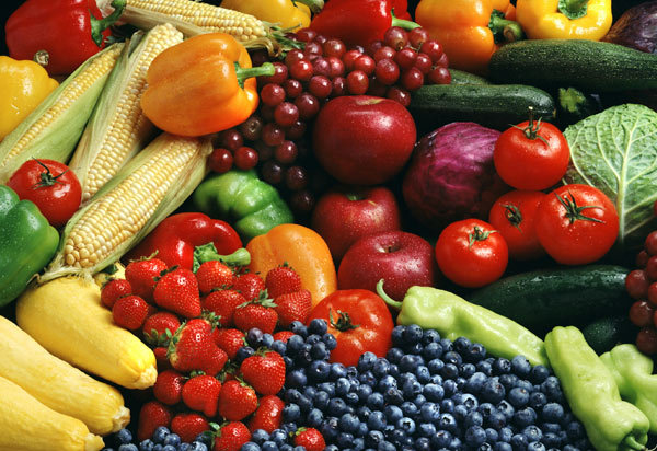 A diet of fruits and vegetables can help you get the calcium you need.
